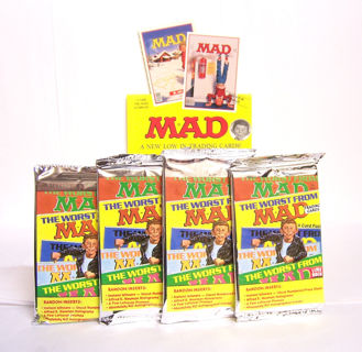 VINTAGE MAD MAGAZINE BOOSTER PACK 1992 MAD MAGAZINE Trading Cards Alfred E. Neuman