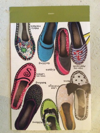 Free: ESPADRILLES SHOEMAKING MADE EASY * Tips On Sizing, Supplies