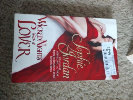 Wicked Nights with a Lover by Sophie Jordan (paperback)
