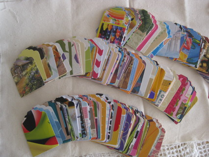 Gift tags, different colors and designs, 24 tags