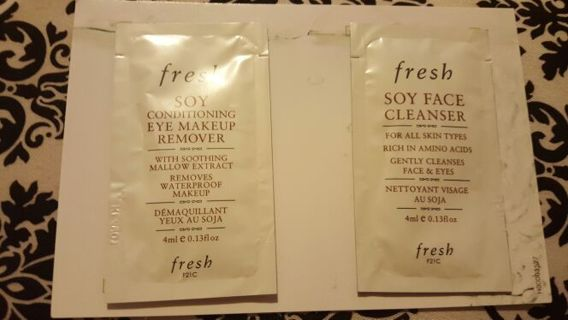 Fresh Face Cleanser Samples