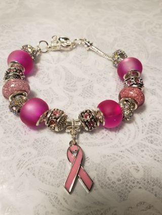 Euro Braclet ♡♡ Breast Cancer Awareness ♡♡