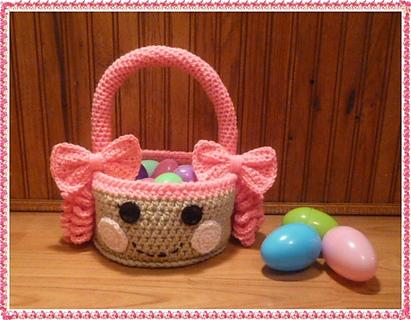 Free Crochet Lalaloopsy Easter Basket Pdf Pattern Crochet