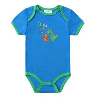 2018 Fashion Baby Romper Short Sleeves 100% Cotton Baby Pajamas Animal Cartoon Printed Newborn Bab