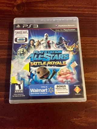 PS3 Playstation All-Star Battle Royale