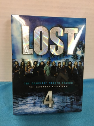 Lost - The Complete Fourth Season (DVD, 2008, 6-Disc Set)