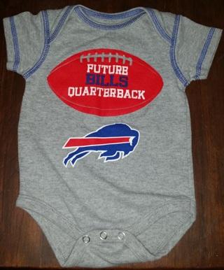 ced0ba1f Free: Buffalo Bills baby onesie NFL Football - Baby Clothes - Listia ...
