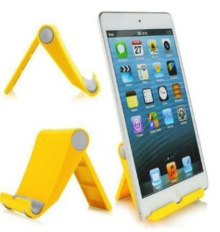 1 BRAND-NEW FOLDING STAND for tablets & phones..Winner Picks Color! Expandable, Adjustable, Non-Slip