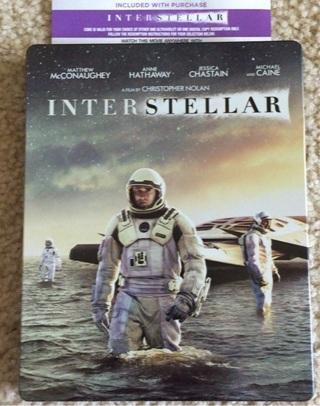 Interstellar ITunes or Windows Media code HDX