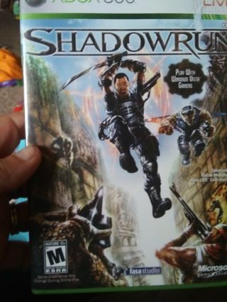 Xbox 360 shadowrun game
