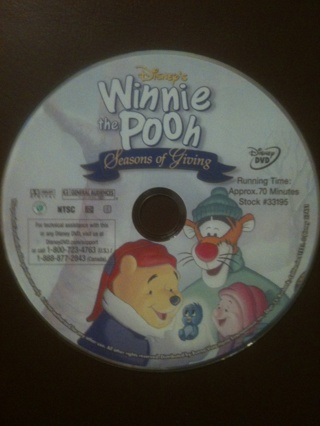 Disney's Winnie the Pooh DVD, Disc Only