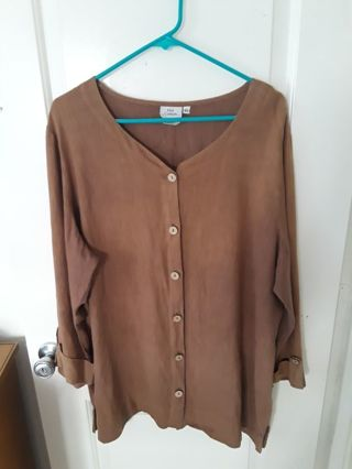 Women long sleeve blouse (XL)