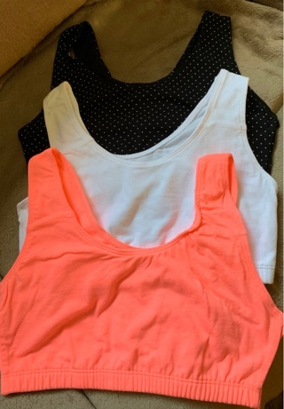 NWOT WOMENS SET OF 3 SPORTS BRA'S