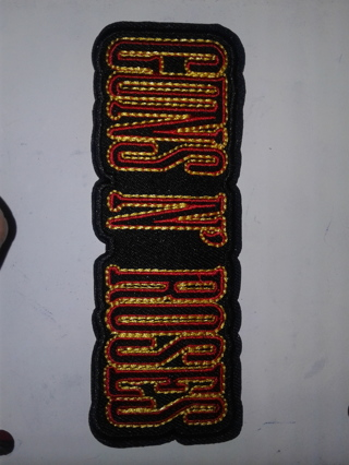 Guns-N-Roses Iron On Patch