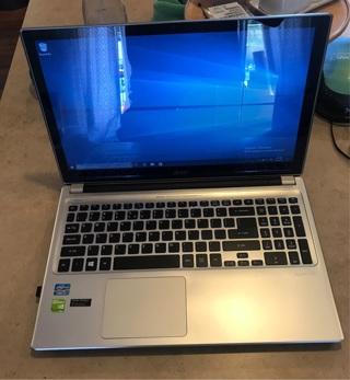 Acer aspire i7-3537U 256gb SSD 8GB RAM