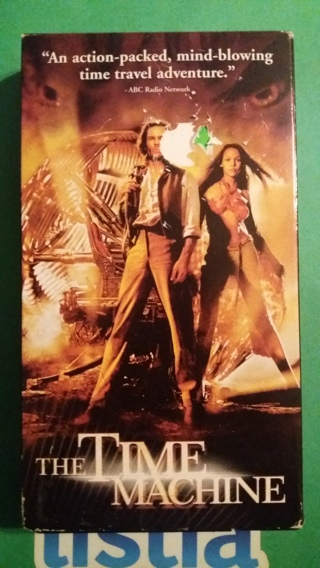 vhs the time machine free shipping