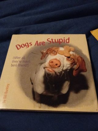 New Book Dogs Are Stupid