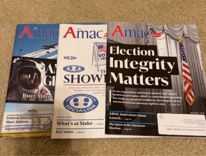 3 AMAC Magazines