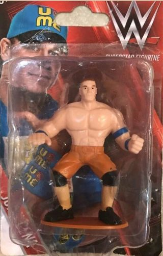 WWE Superstar Small Cake Topper Figure Toy John Cena New  fc2