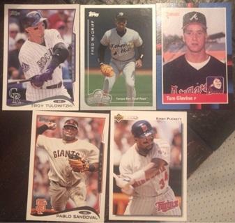 Progressive sports card lot Jersey relic auto graded cards