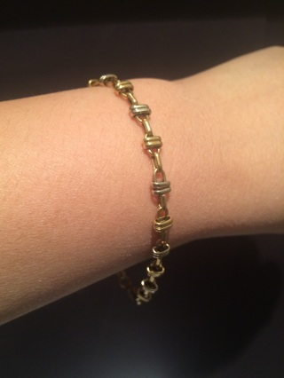 18K GOLD BRACELET 750 for women