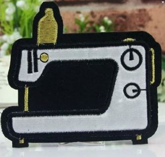 1 Sewing Machine SEW ON Patch Crafts Design Patch Clothing Embroidery Applique FREE SHIPPING