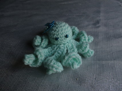 Crocheted Octo. New. Made by Me.