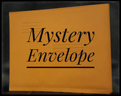 #1- Mystery Envelope - Stickers
