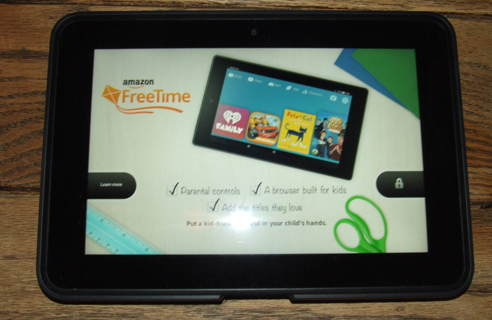 Amazon Kindle Fire HD 8.9 (2nd Gen) 16GB, Wi-Fi, 8.9in - Black EUC