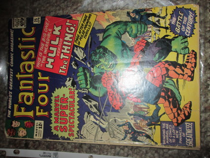 April 1964 Fantastic Four Issue 25