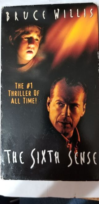 The Sixth Sense with Bruce Willis