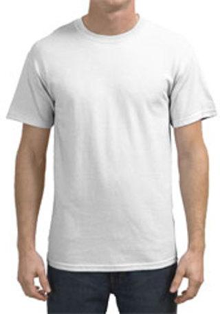 Free brand new plain white t shirt gildan size s to xl for Plain t shirt brands