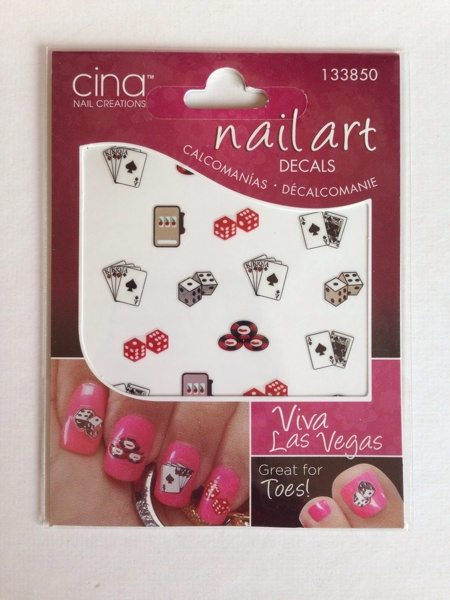 Free las vegas glam casino theme nail decals for Michaels arts and crafts las vegas