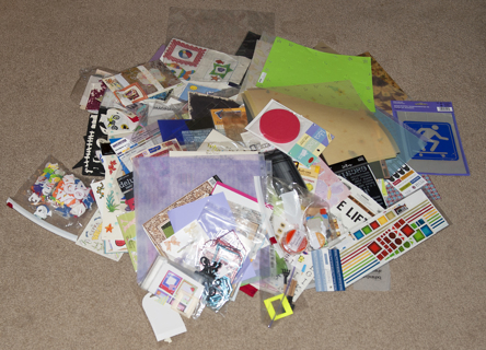 HUGE SCRAPBOOKING LOT - BIGGEST EVER! - LOTS NEW!  Free Shipping!