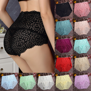 Women Lady High Waist Lace Underwear Briefs Panties G-string Lingerie Thongs
