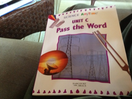 SCIENCE ANYTIME UNIT C PASS THE WORD - USING ENERGY AND TECHNOLOGY by HARCOURT BRACE