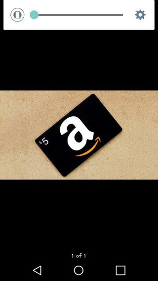 $5 amazon gift card 5 DAYS ONLY