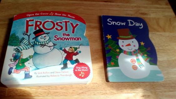 2 Children's Board Books: EUC