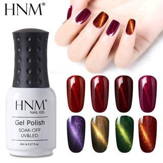 HNM Magnet Cat's Eye Nail Gel Polish 8ml UV Gel Nail Polish Gel Lak Soak off GelPolish Varnish Ver
