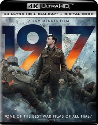⚡~ 1917 [Blu-ray] 4K Ultra HD + Blu-ray + Digital ~⚡
