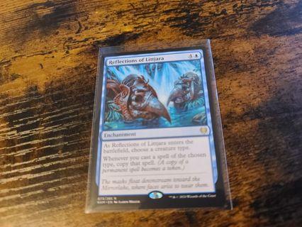 Magic the gathering mtg reflections of Littjara rare card kaldheim
