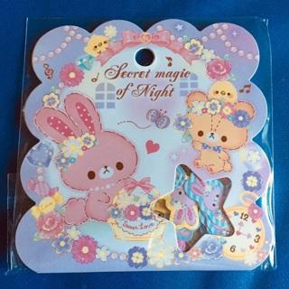 ⭐️ Secret Magic of Night Kawaii Sticker Flakes Sack BRAND NEW ⭐️
