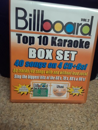 BILLBOARD TOP 10 KARAOKE BOX SET