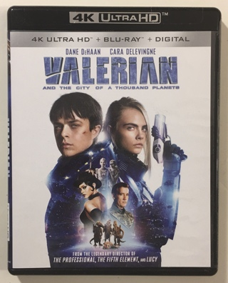 Valerian and the City of a Thousand Planets Movies Anywhere Digital HD Code Only from 4K Ultra HD