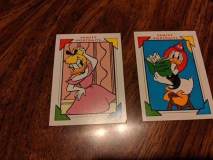 Disney's Daisy & Donald Duck trading Cards