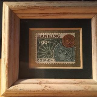 1975 Banking stamp