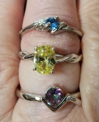 3 Gorgeous Ladies Rings