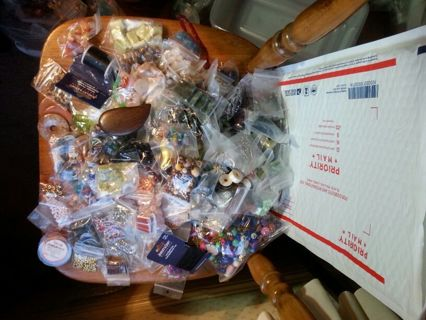 HUGE Bead Destash Auction! TIERED! This could get MASSIVE! GIN Gets EVERYTHING! FREE SHIPPING!