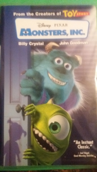 vhs monsters inc. free shipping