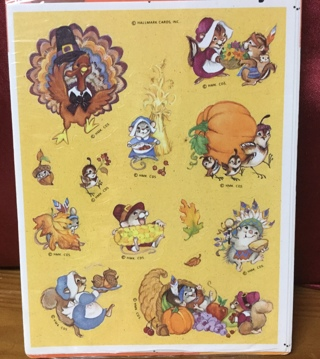 Thanksgiving Stickers(4 sheets)